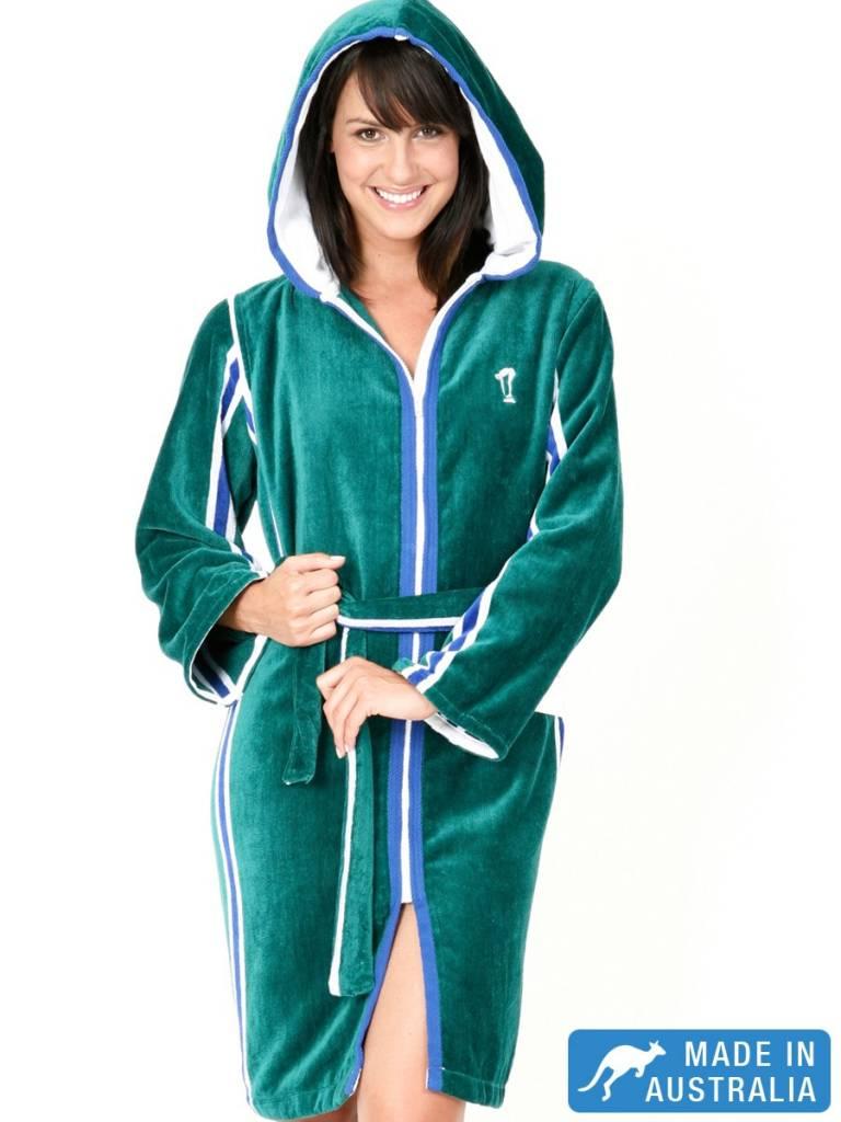 Terry Rich Australia Dames badjas 'Elite' met capuchon ...