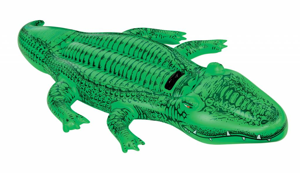 Nice Intex Inflatable Crocodile