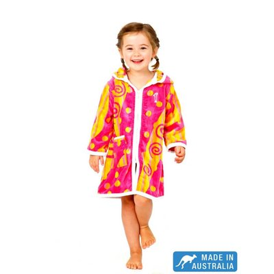 Terry Rich Australia Kids Beach Robe Carousel