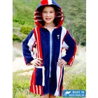 Terry Rich Australia Kids Beach Robe Starboard