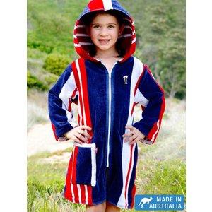 Terry Rich Australia Kids Beach Robe Starboard
