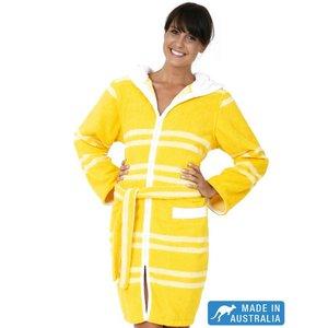 Terry Rich Australia Ultra Luxe Swim Robe | Swim Parka | Citron