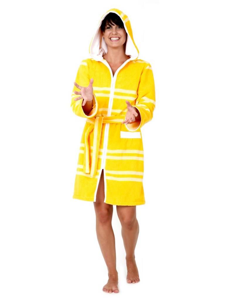 Terry Rich Australia Ultra Luxe Swim Robe | Swim Parka | Citron ...