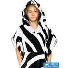 Terry Rich Australia Kids Surf Poncho - Changing Robe 'Zebra'