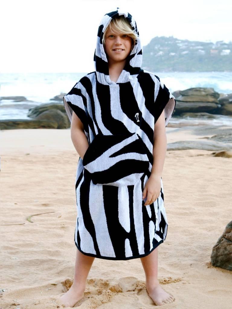 192881528a Terry rich australia kids surf poncho changing robe zebra jpg 768x1024 Australian  surfers changing