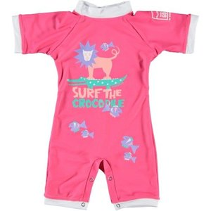 Sonpakkie Baby UV Suit Surf the Croc pink