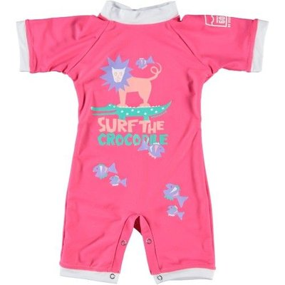 Sonpakkie Baby UV Suit Surf the Croc pink