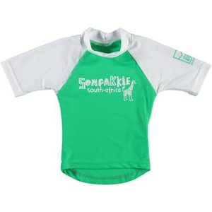 Sonpakkie UV Swim Shirt 'Safari' (green & white)