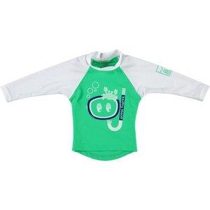 Sonpakkie UV Zwem shirt Ocean Hunter Groen/Wit