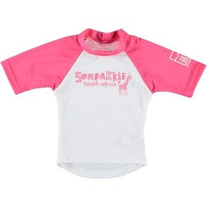 Sonpakkie UV Swim Shirt 'Safari' (pink & white)