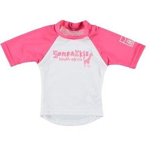 Sonpakkie UV Zwem shirt ´Safari´ roos-wit
