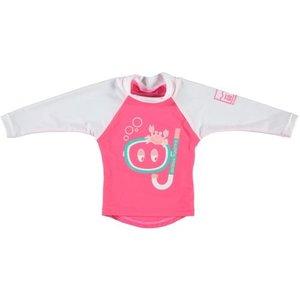 Sonpakkie UV Zwem shirt Ocean Hunter Roos/Wit