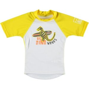 Sonpakkie UV Zwemshirt ´Cute Flower´ wit met geel