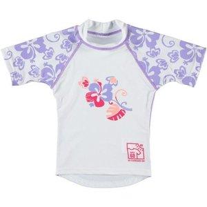 Sonpakkie UV Swim Shirt Flower vibes lila
