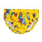Beco Zwemluier Dolfijntjes motief geel