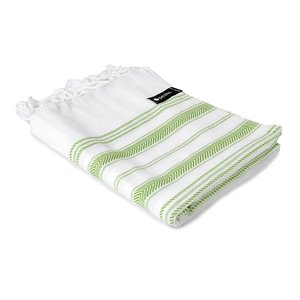 Peshs. Hammam Towel Aguas Blancas White-green