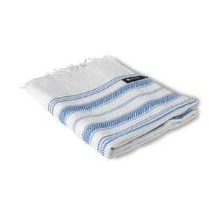 Peshs. Hammam Towel Aguas Blancas White-blue