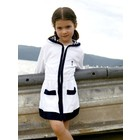 Terry Rich Australia Strand Cover Up | Sail Away | Wit & Navy
