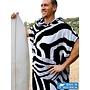 Terry Rich Australia Heren Poncho | Zebra