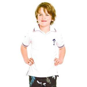 Terry Rich Australia UV Polo boys short sleeve white