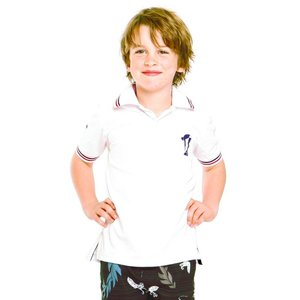 Terry Rich Australia UV Polo Jongens korte mouwen wit