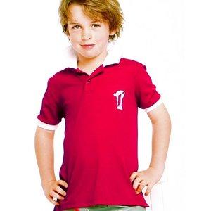 Terry Rich Australia UV Polo Jongens korte mouwen rood