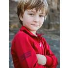 Terry Rich Australia UV Polo Jongens lange mouwen rood