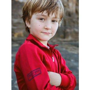 Terry Rich Australia UV Polo boys long sleeve red