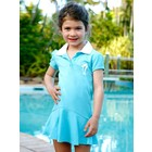 Terry Rich Australia UV Polo Dress Aqua