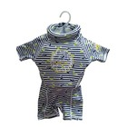Swimsafe Floatsuit Dolphin stripe blue