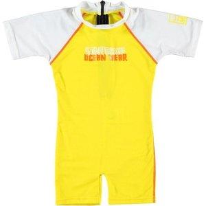 Sonpakkie UV Baby Zwempak ´Sporty' Geel