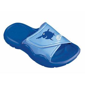 Beco Badslipper Sealife Blauw