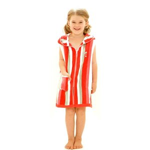 Terry Rich Australia Kids Beach Robe Flamingo