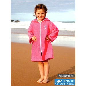 Terry Rich Australia Microfibre Beachrobe Pink