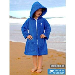 Terry Rich Australia Microfibre Beachrobe Blue