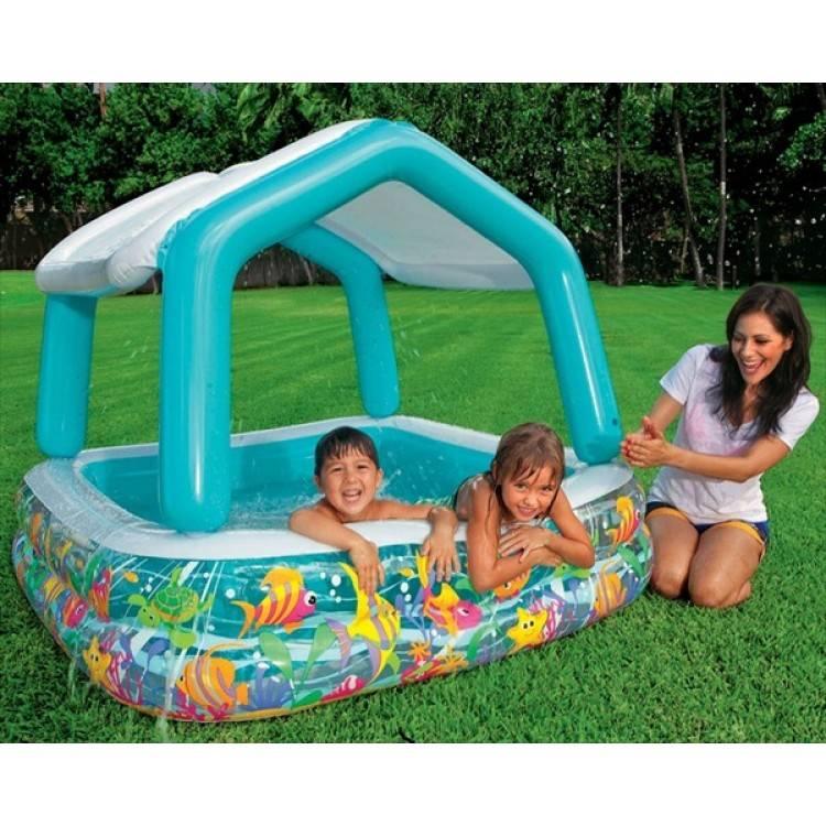 Intex Sun Shade Pool  sc 1 st  Destination Beach & Intex Sun Shade Pool - Destination Beach