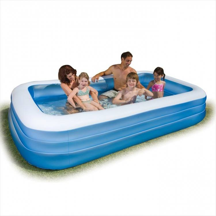 intex family pool large destination beach. Black Bedroom Furniture Sets. Home Design Ideas