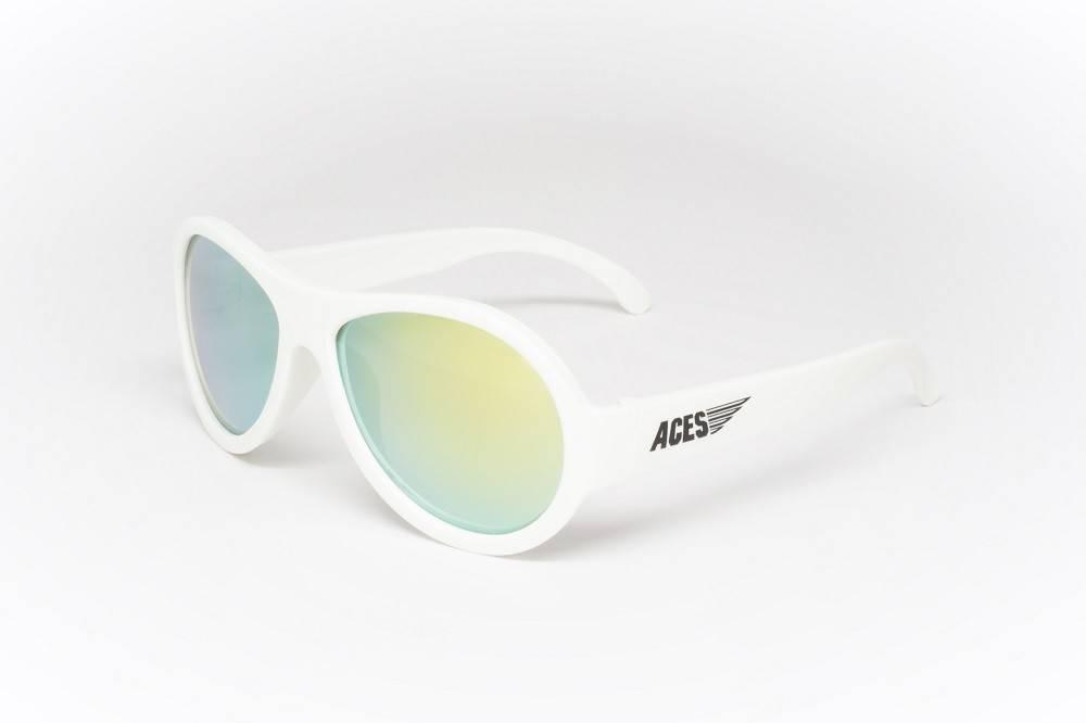 42ff44303d Babiators Kids Aviator Sunglasses Wicked White Aviator - Destination ...