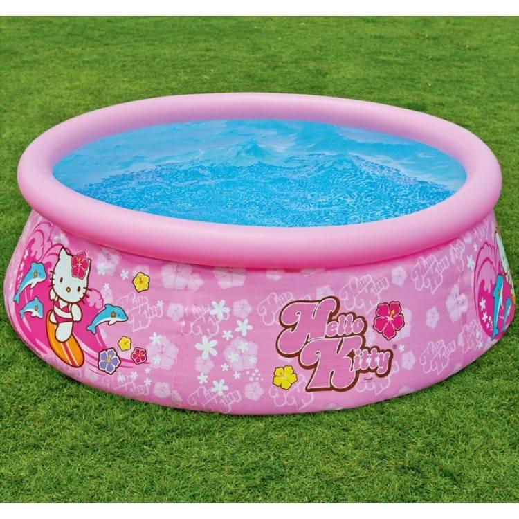 intex easy set pool. Intex Easy Set Pool Hello Kitty