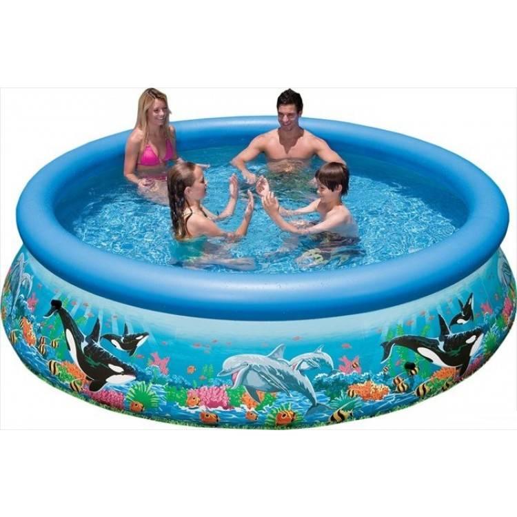 intex ocean reef easy set pool 366 destination beach. Black Bedroom Furniture Sets. Home Design Ideas