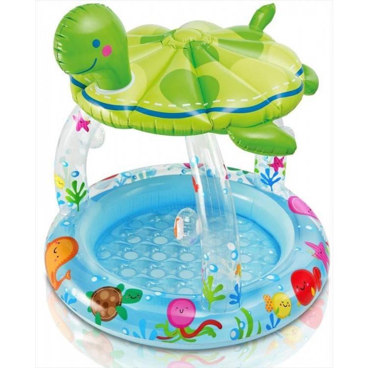 Vrolijk baby zwembadje de zeeschildpad destination beach for Petite piscine gonflable bebe