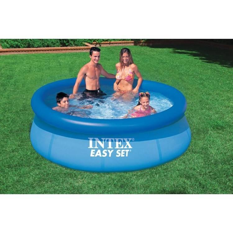 intex easy set pool 244 x 76cm destination beach. Black Bedroom Furniture Sets. Home Design Ideas