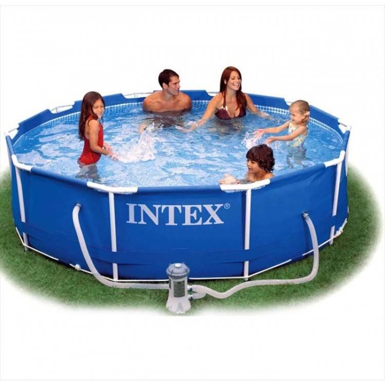 Intex Metal Frame Pool 305 x 76 cm - Destination Beach