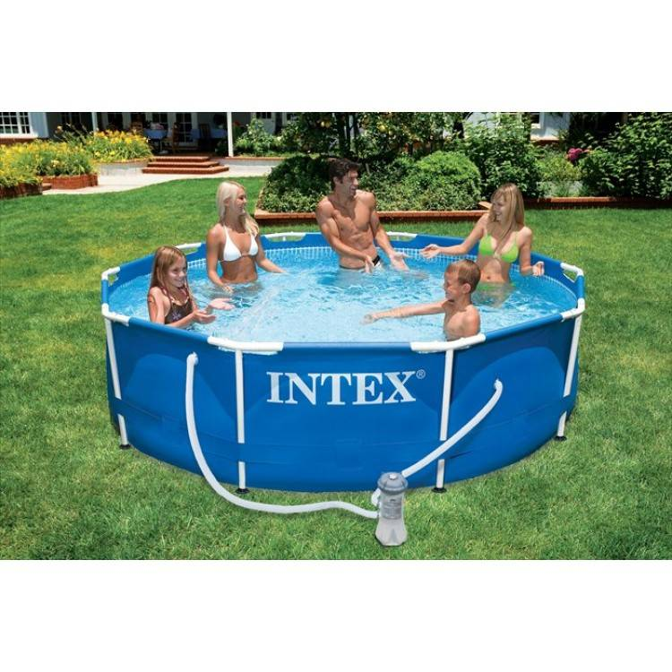 Intex Metal Frame Pool 366 x 76 cm - Destination Beach