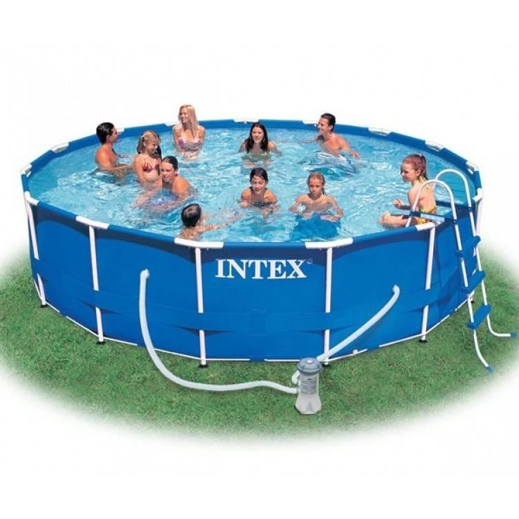 Intex Metal Frame Pool 457 x 107 cm - Destination Beach
