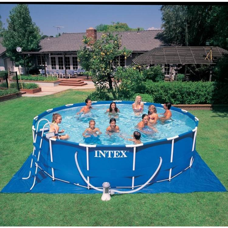 Intex Metal Frame Pool 457 x 122 cm - Destination Beach