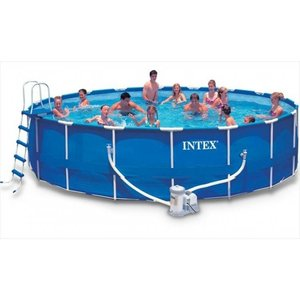 Intex Metal Frame Pool 732 x 132 cm