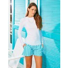 Cabana Life UV Shirt Scallop White