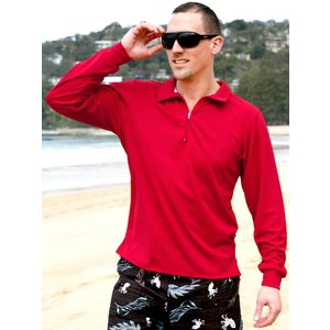 Terry Rich Australia UV Polo Korte mouwen rood