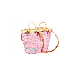 Twenty Violets Strandtas Pink White Star (Mini Maxi)